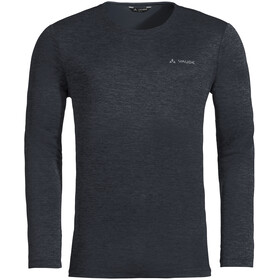 VAUDE Essential Longsleeve T-shirt Heren, phantom black